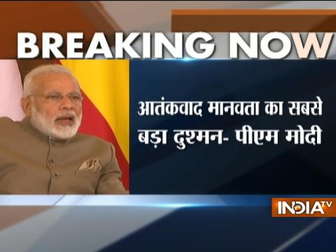 Terrorism is one of the key issue every country is facing today, says PM Modi