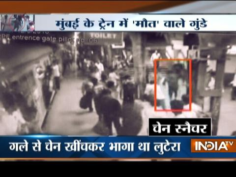 CCTV: Woman falls to death on railway track at Mumbai Kurla station