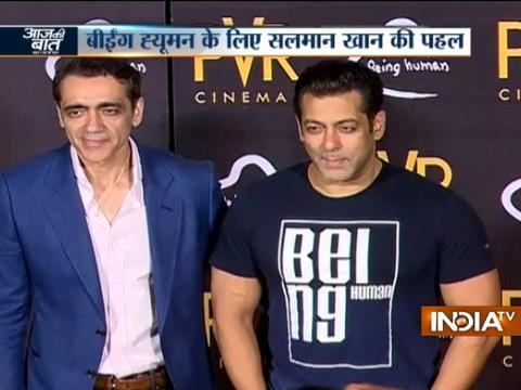 Aaj Ki Baat Good News: PVR ties up with Salman Khan's Being Human Foundation
