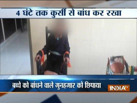 Punjab teacher caught on camera torturing disable student in Patiala