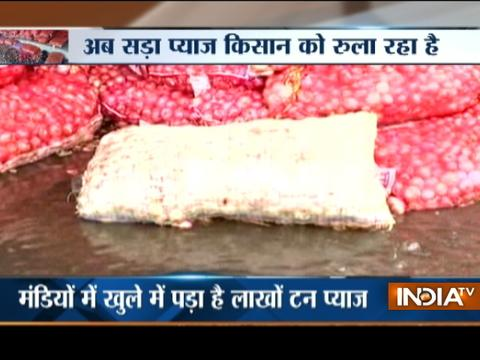 Bhopal: Grain merchants have little to do as Mandi gets flooded with onions