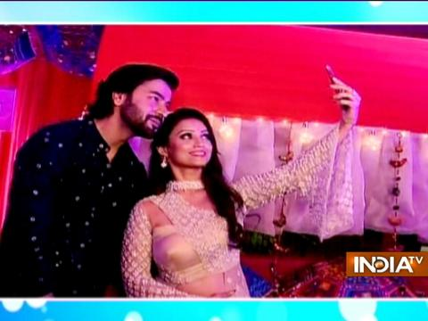 Telly couple Puja Banerjee and Kunal Verma got engaged in a lavish ceremony