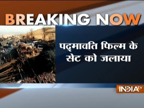 Padmavati row intensifies, film set burnt in Kolhapur