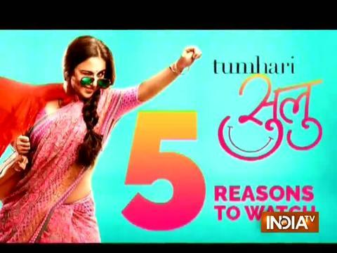 5 reasons why you should watch Tumhari Sulu