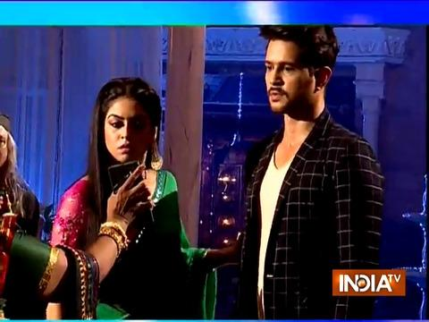 Aisi Deewangi Dekhi nahi Kahi : Teja beats her husband Prem with hunter