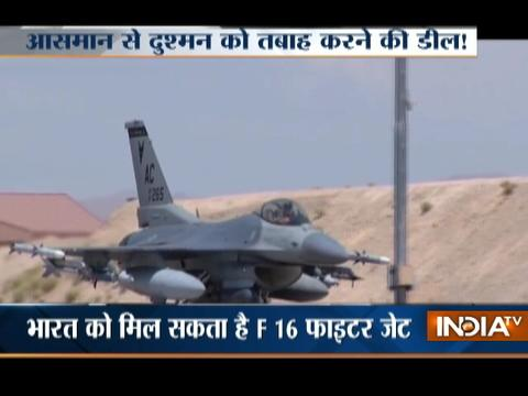 India considers buying American F-16 fighter jets