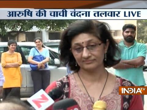 Rajesh-Nupur Talwar have suffered so much, Greatful to HC for acquitting them: Vandana Talwar