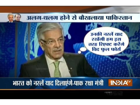 Pakistan's Defence Minister Khawaja Asif Threatens To Nuke India