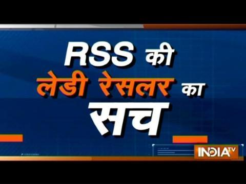 Watch Aaj Ka Viral to know the mystery behind RSS wrestler knocking out Pak wrestler