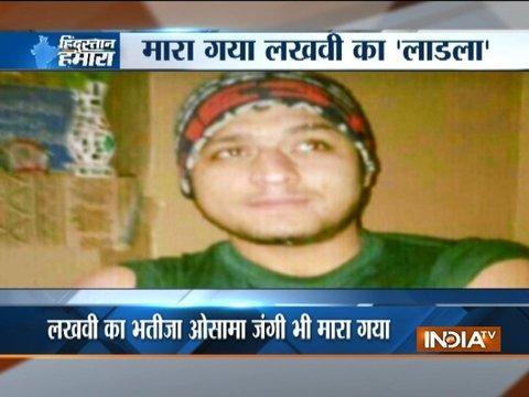 26/11 mastermind Zakiur Rehman Lakhvi's nephew among six terrorists killed in Bandipora