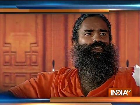Swami Ramdev replies to allegation of cow urine being mixed in Patanjali products