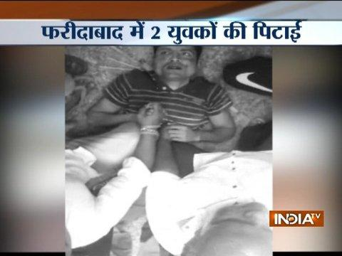 Five people beaten on suspicion of carrying cow meat in Faridabad