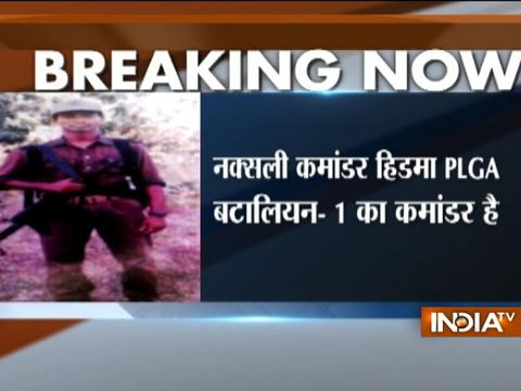 Naxal Commando Hidima behind Sukma attack that killed 25 CRPF personnel