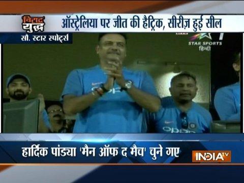 Hardik Pandya takes India to 3-0 series win against Australia