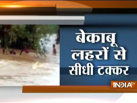 Chattisgarh: See dramatic rescue of boy who get stuck in flood waters for 12 hours