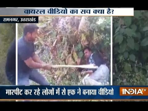 Young Couple beaten up by a gang in Uttarakhand, Video Goes Viral