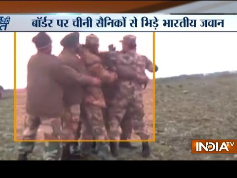 Chinese Soldiers Destroying Bunkers on Sikkim Border