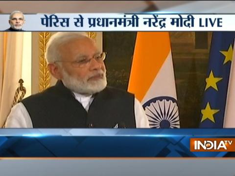 Modi in Paris: Terrorism one of the biggest challenges world facing today says PM Modi