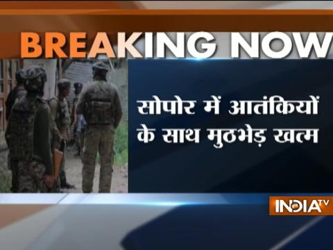 LeT terrorists killed by security forces in Jammu and Kashmir's Sopore