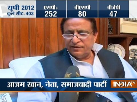 Azam Khan confident of his son's victory in UP Polls