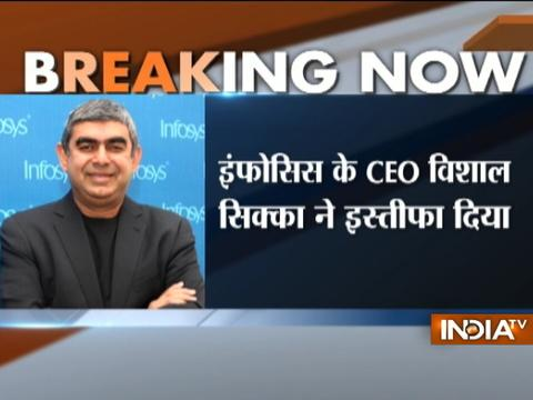 Infosys MD & CEO Vishal Sikka resigns, Pravin Rao interim chief