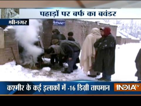 Special Report: No respite from snowfall in hills
