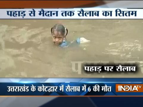 Uttarakhand: 6 killed, over 350 stranded in cloudburst
