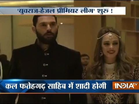 Sangeet Ceremony of Yuvraj Singh and Hazel Keech, who are set to tie the knot