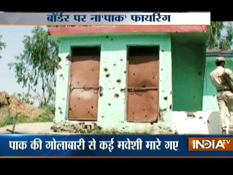 Indian army gives a befitting reply after Pak rangers violates ceasefire in Naushera sector