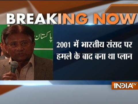 Report claims Pervez Musharraf considered using nukes against India in 2001
