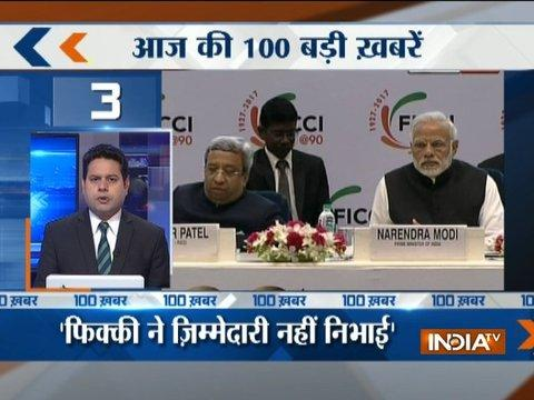 News 100 at 8:00 PM | 13th December, 2017