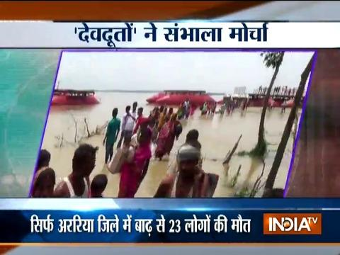 No respite from flood fury in Bihar