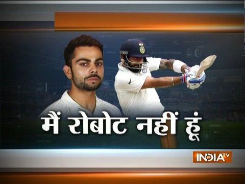 I am not a robot, I also need rest: Virat Kohli