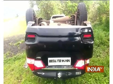 6 students killed as car overturns at Mumbai-Pune Express Highway in Maharashtra