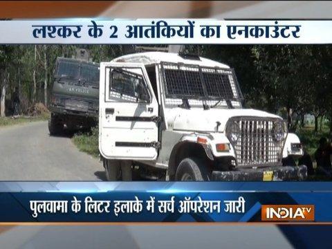 Jammu and Kashmir: Top Lashkar commander among two militants killed in Pulwama encounter