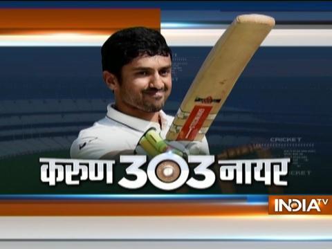 Cricket Ki Baat: Ind vs Eng, 5th Test: Karun Nair's maiden ton takes India past 450