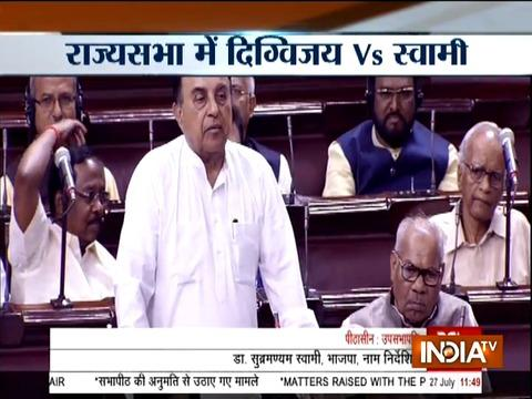 Digvijay Singh and Subramanian Swamy in war of words over Samjhauta Express issue