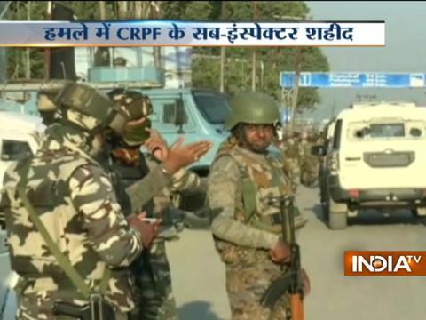 Srinagar: 1 jawan martyred, 2 others injured as terrorists attack CRPF vehicle at Pantha Chowk
