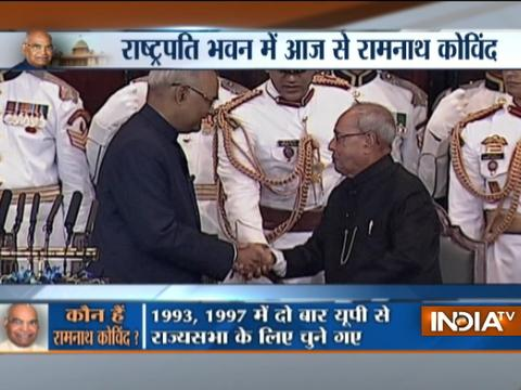 All about Ramnath Kovind's swearing-in ceremony