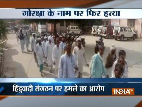 Cow protection vigilantes allegedly kill Muslim man for transporting cows in Alwar, Rajasthan