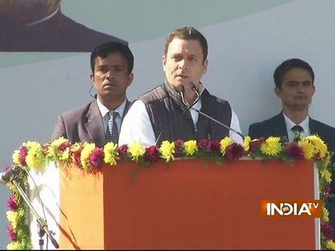 Rahul Gandhi officially takes charge as Congress President, lashes out at BJP