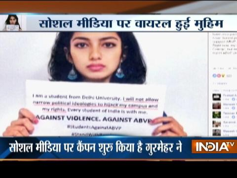 Ramjas College Protest: Social media campaign against ABVP goes viral