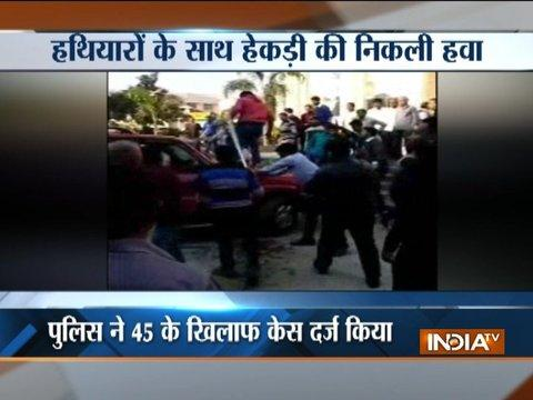 Caught On Camera: Clash between students and Bhagwa brigade at Moradabad's IFTM University