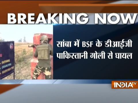 BSF DIG injured during cross-border firing in Samba
