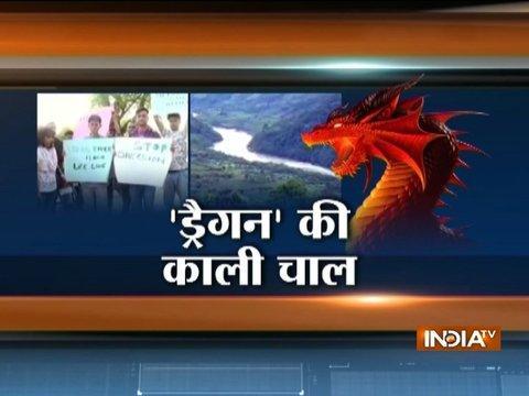 Arunachal Pradesh: Siang river turns black, officials blame China