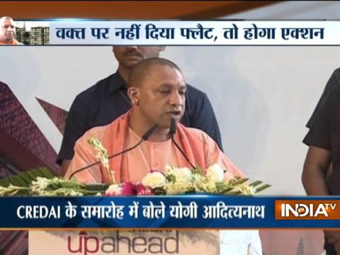 CM Adityanath warns UP builders, says buyers must get possession on time
