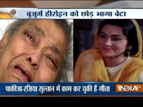 Sick Veteran actress Geeta Kapoor abandoned by son at hospital in Mumbai