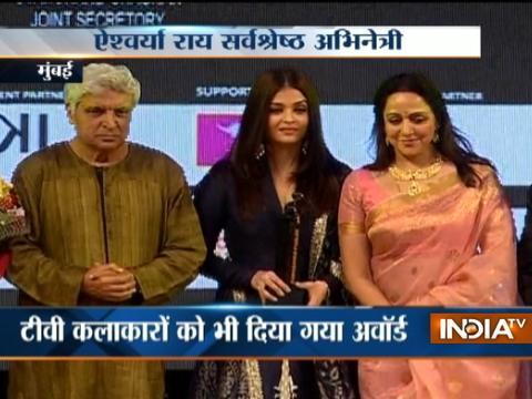 Aishwarya Rai,Hema Malini,Javed Akhtar gets Dadasaheb Phalke Excellence Award