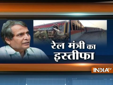 Railway Minister Suresh Prabhu offers resignation over train accidents; PM Modi to decide, says Arun Jaitely