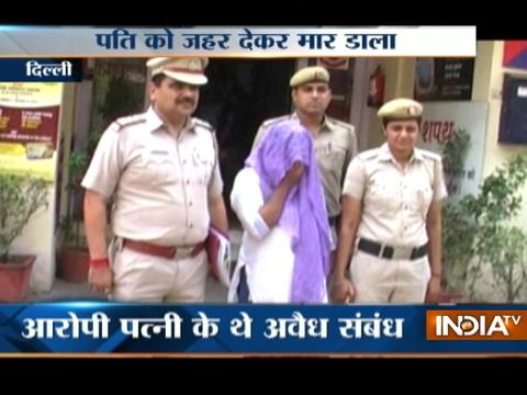 Delhi woman held for killing husband with her lover